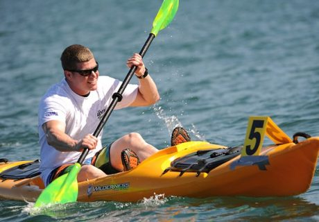 One way for boat dealers to engage younger buyers is to start them with kayaks and paddleboards.